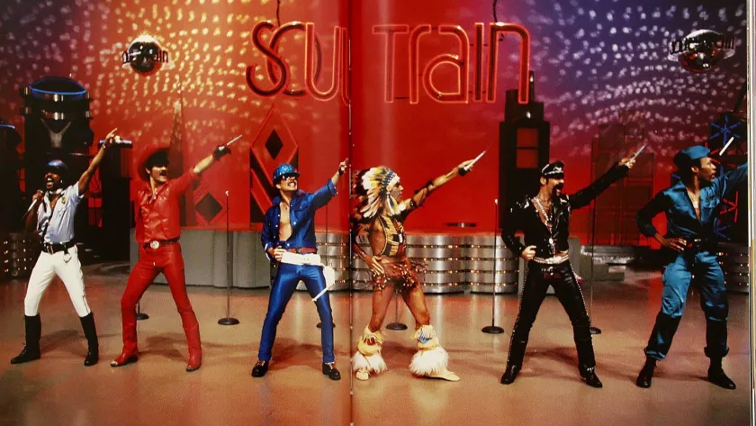 The-Village-People-perform-on-an-episode-of-Soul-Train.-Los-Angeles-Times